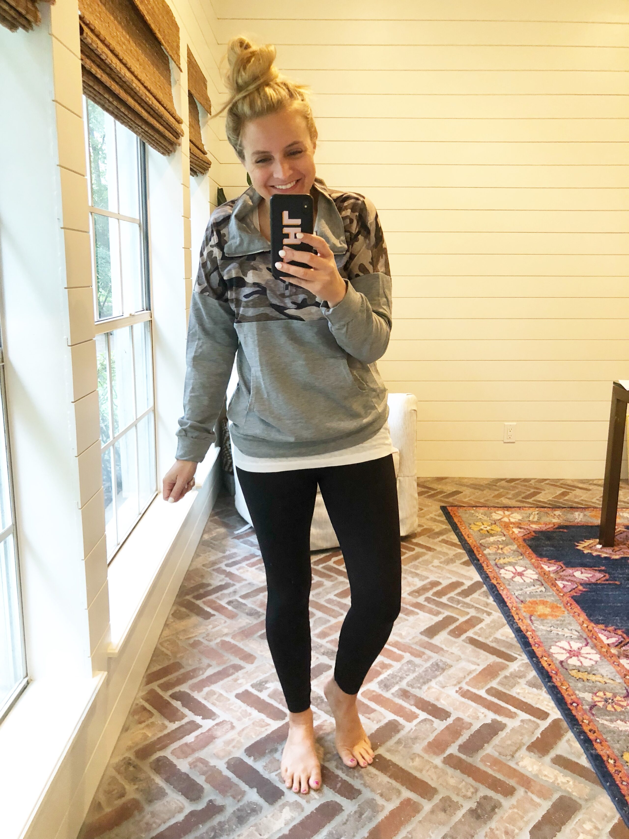 Friday Favorites featured by popular life and style blogger, Fancy Ashley: Camo Pullover