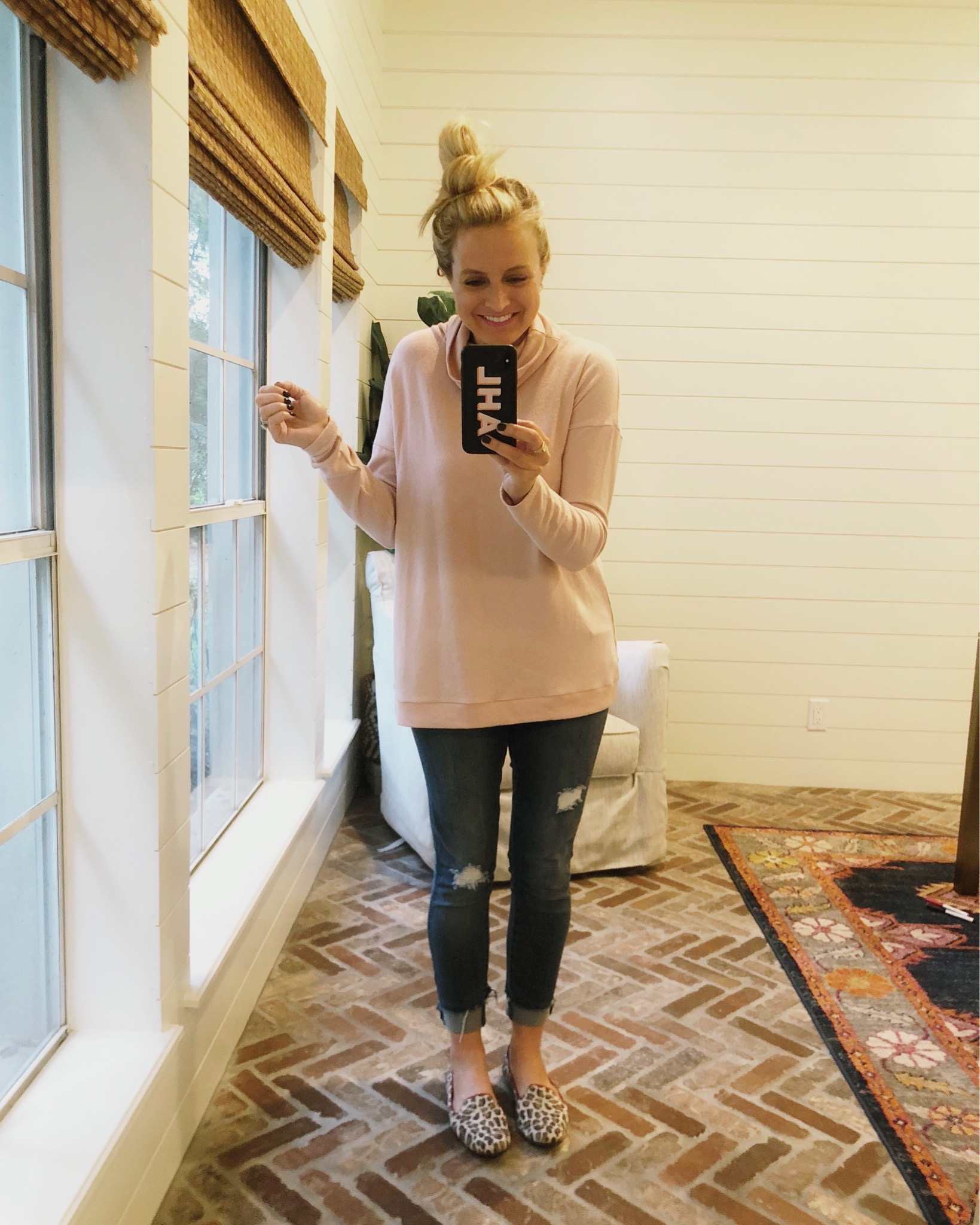 Nordstrom Fall Turtleneck styled by top Houston fashion blog, Fancy Ashley