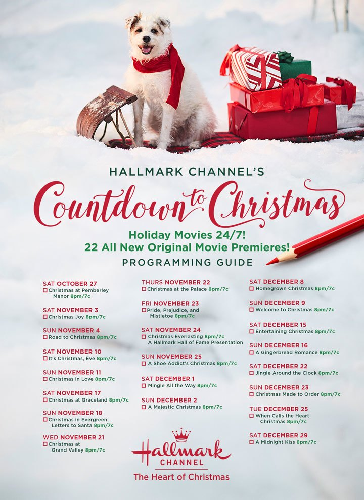 Current Favorites featured by top life and style Houston blogger, Fancy Ashley: Hallmark christmas movies