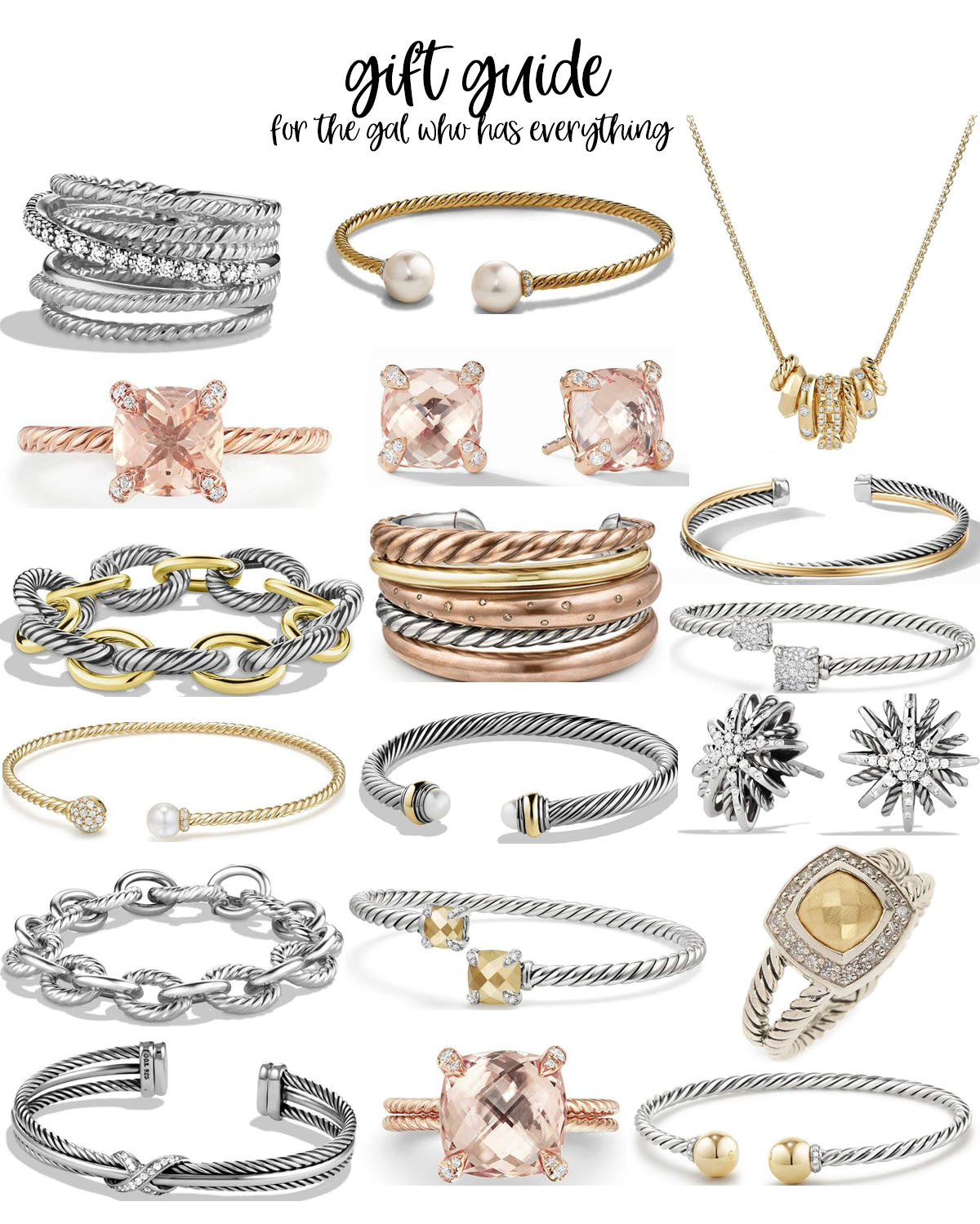 jewelry gift ideas featured by top Houston life and style blogger, Fancy Ashley