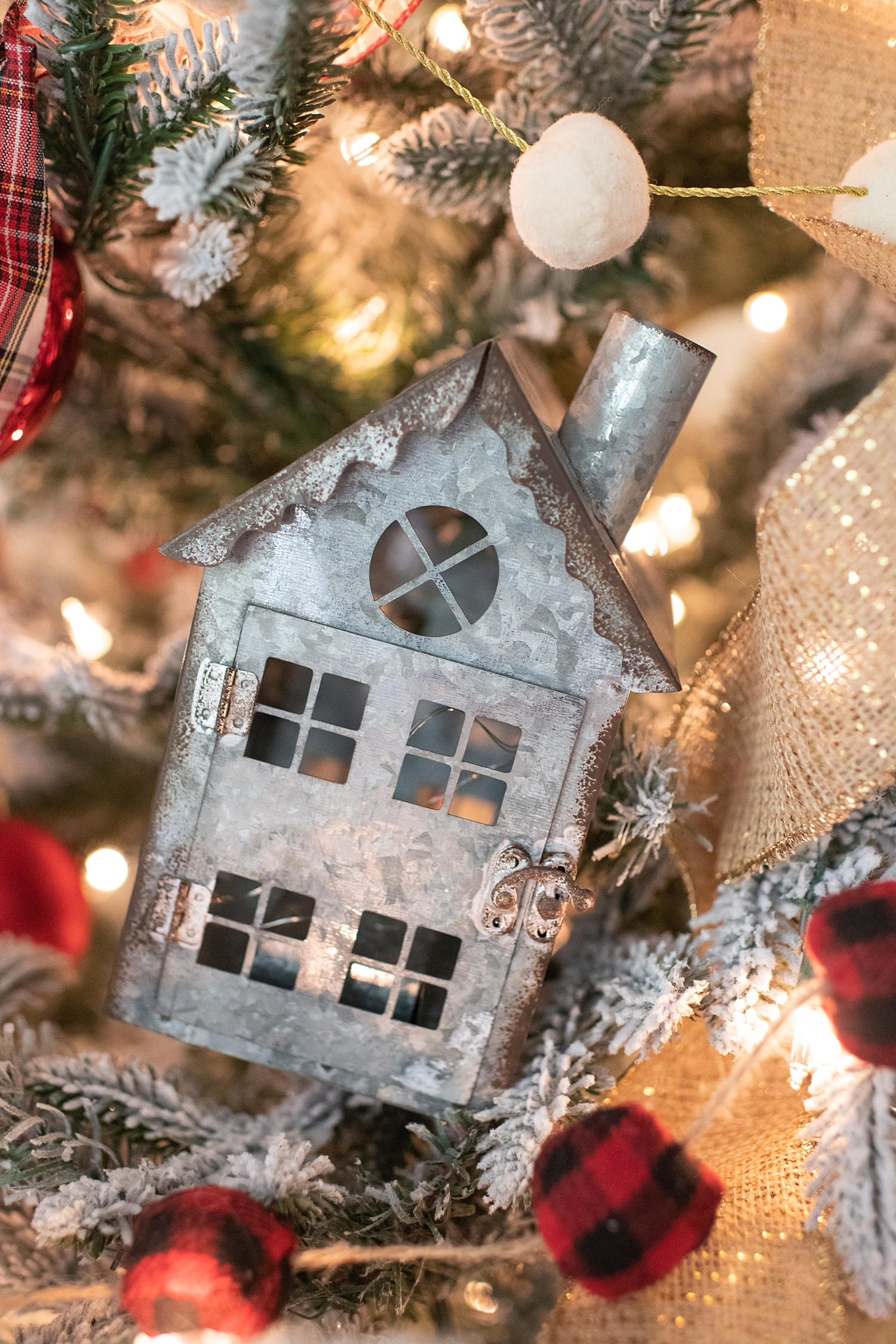 """Holiday Pjs & Top Macy's Christmas Gifts featured by top Houston life and style blog, Fancy Ashley"""" image of a Christmas ornament available at Macy's"""
