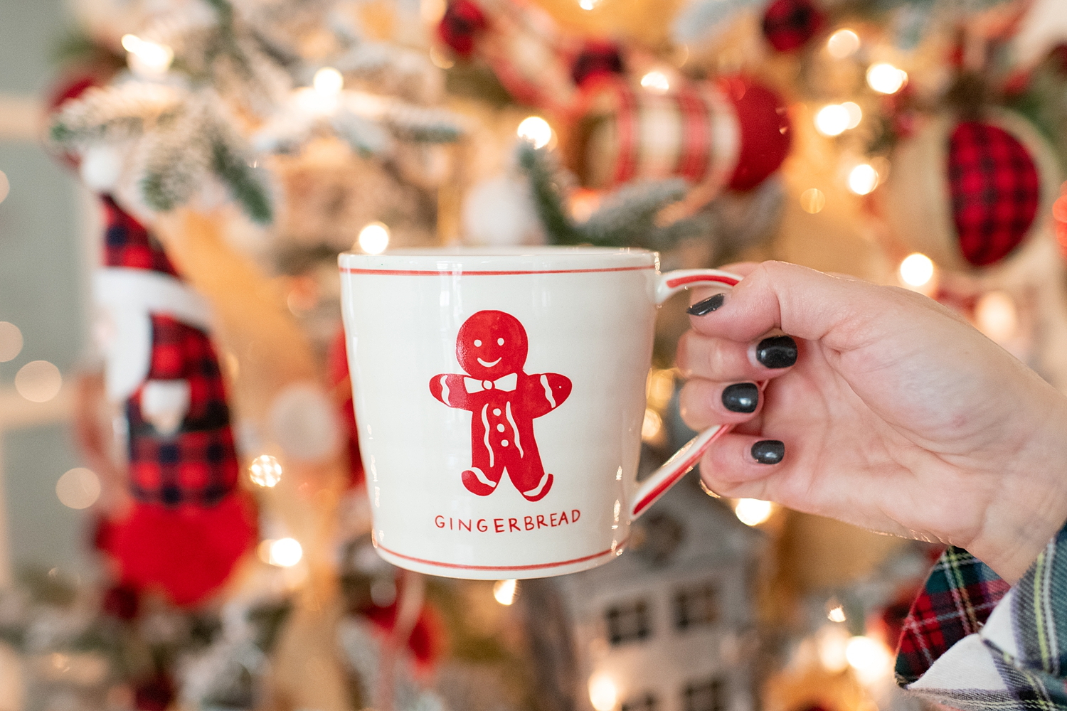 """Holiday Pjs & Top Macy's Christmas Gifts featured by top Houston life and style blog, Fancy Ashley"""" image of a Christmas mug available at Macy's"""
