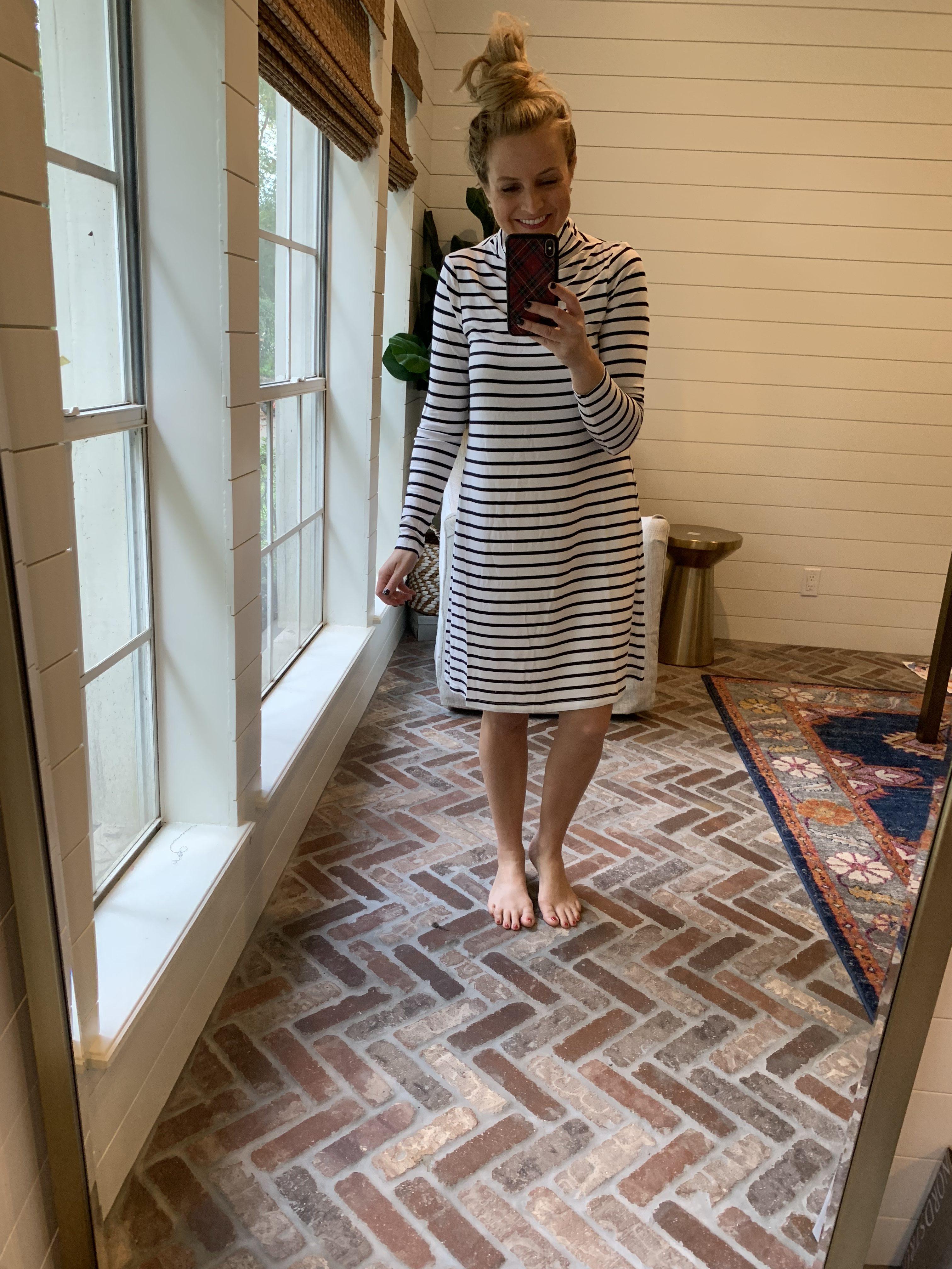 Amazon Favorites featured by top Houston fashion blog, Fancy Ashley: striped dress