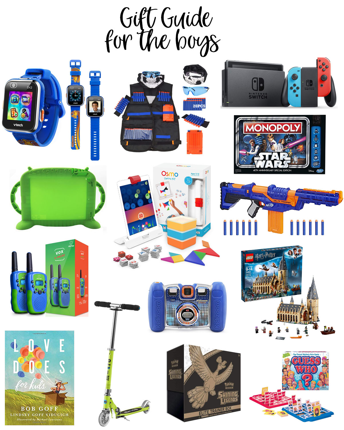 The Best Holiday Gifts for Kids featured by top Houston lifestyle blogger, Fancy Ashley: image of the best Christmas gifts for boys