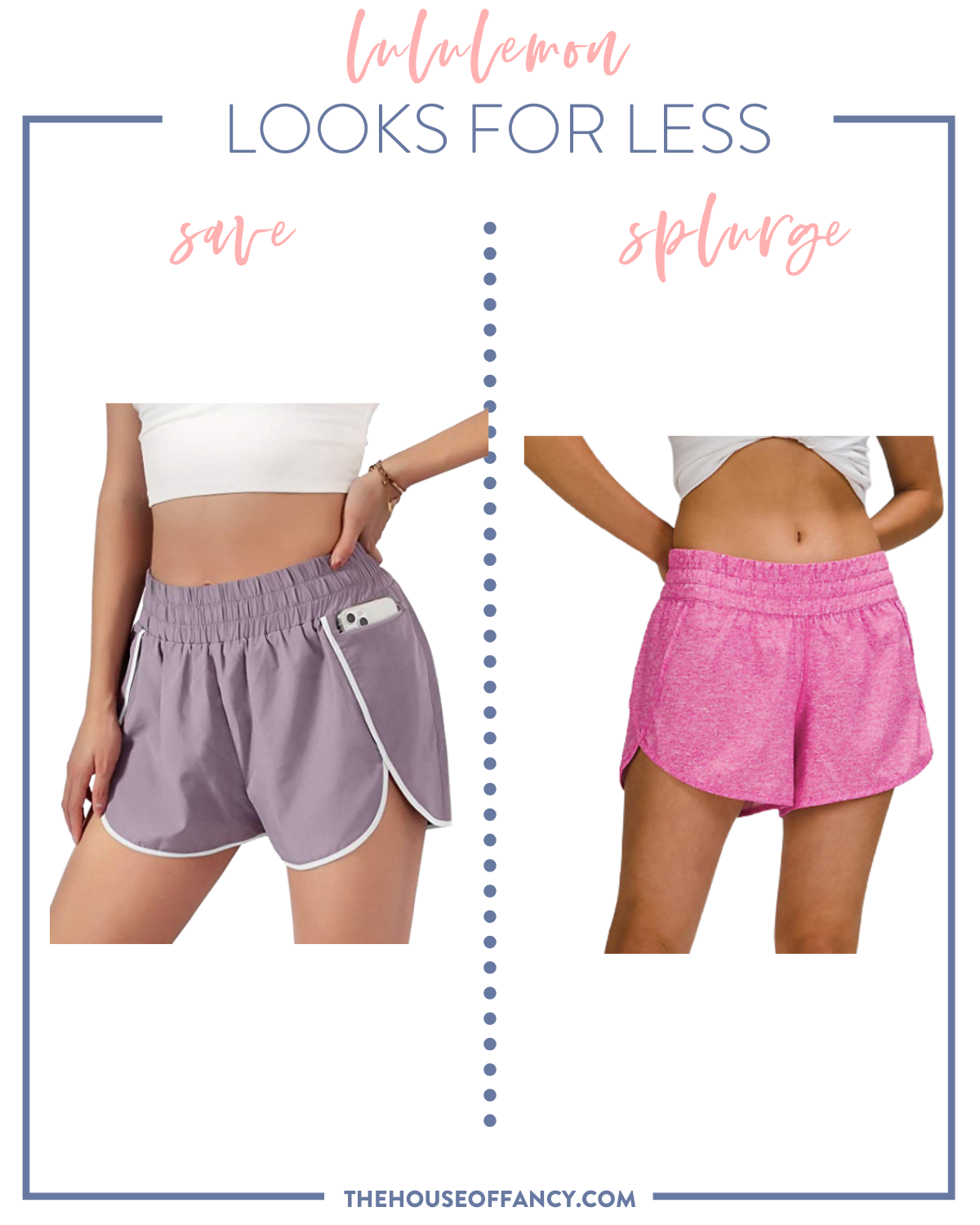 Lululemon Looks for Less featured by top Houston fashion blogger, House of Fancy