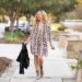 The Snakeskin Print Dress and Leather Jacket You Need for Spring